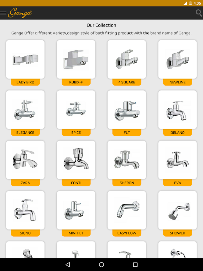 bathroom accessories names. ganga bath fittings screenshot bathroom accessories names