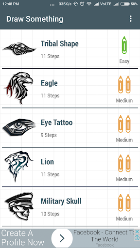 Learn How To Draw Tattoo 1.0 screenshots 5