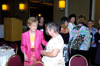 Photo: Valerie Vaughan Albi, '56, and Judy Bullock Cadenasso