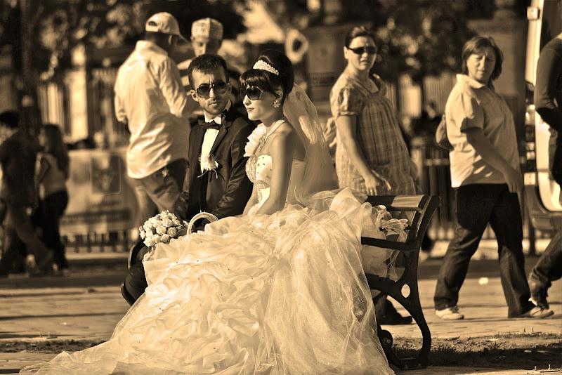 Sposi in panchina di giuseppedangelo
