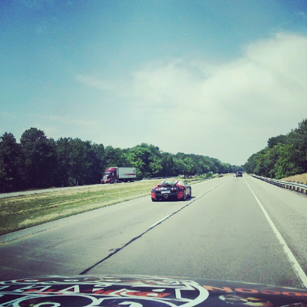 Photo: Just got passed by the most insane car in the 2012 Gumball 3000!!!