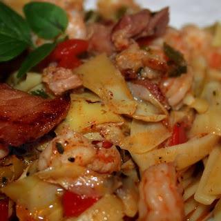 Shrimp and Fettuccine