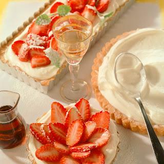 Erdbeer-Cremetörtchen mit Mascarpone