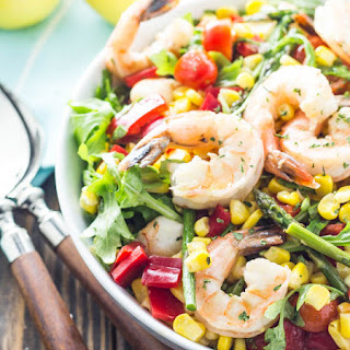 Shrimp and Veggie Salad