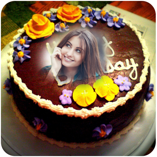 Amazing Birthday Cake Photo Frame Alttbykat Aal Google Play Personalised Birthday Cards Xaembasilily Jamesorg