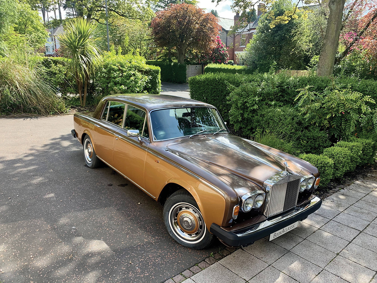 Rolls Royce Silver Shadow II Hire Belfast