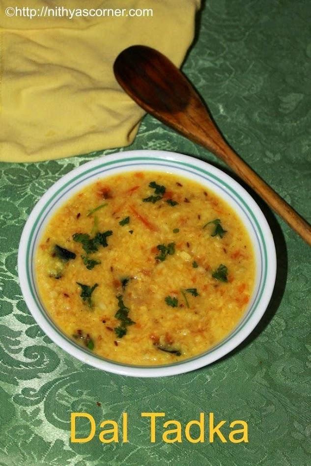 how to make dal tadka recipe restaurant style
