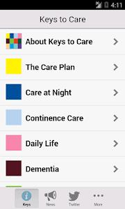 Keys to Care screenshot 1