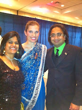 Photo: (R-L) Husain with MP Kirstie Duncan & wife Roopali  http://canadaindiaeducation.com/introduction/media-outreach
