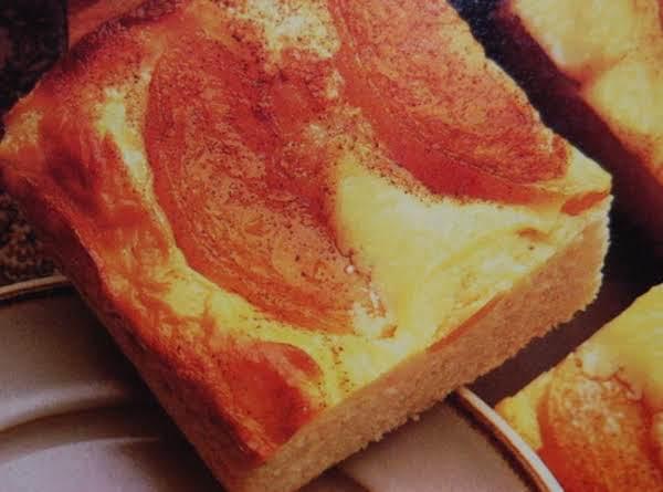 Peach Custard Dessert