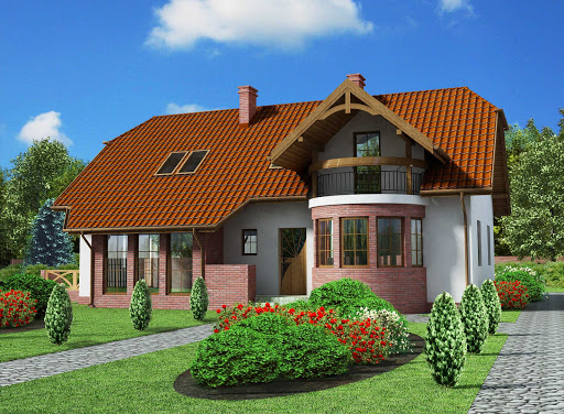 projekt Merlo dom dwurodzinny
