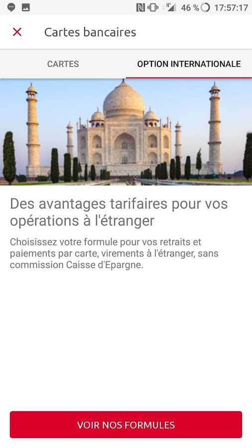 Banque- screenshot