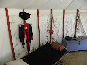 Photo: An officer's tent