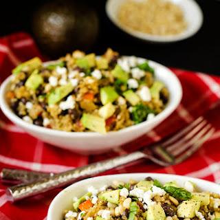 Quinoa Salad with Cilantro Vinaigrette