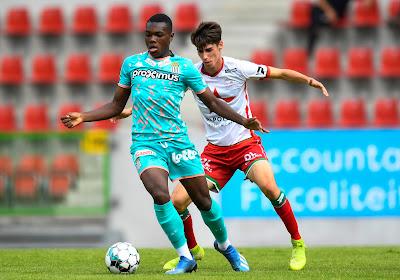 Ken Nkuba de retour à l'entraînement avec Charleroi
