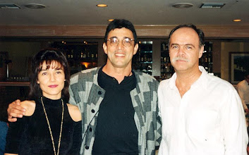 Photo: With Brazilian composer Ivan Lins and journalist Claudio Pereira