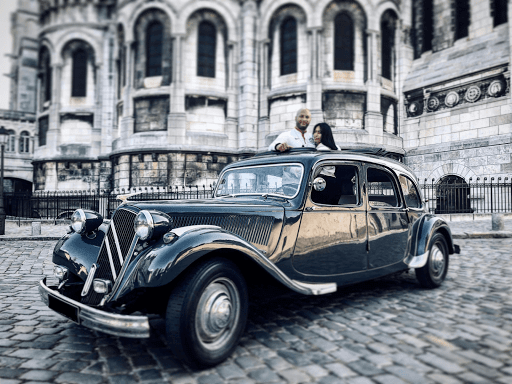 Visite en Citroën