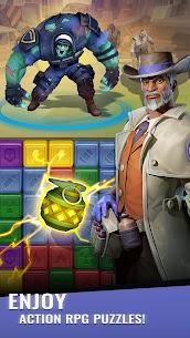 Zombie Blast Squad: Epic Match 3 puzzle 4