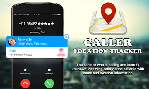 Mobile Caller ID Location Tracker App Download For Android 8