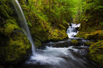 Photo: Given that I live a little over an hour from the ocean and about 40 minutes to one of the greatest waterfall spots in North America I don't know if I will ever run out of pictures for #ThirstyThursdayPics, #WaterfallWednesday, or #FlowingWaterFriday.  Here is one more from the Columbia River Gorge.  #PlusPhotoExtract