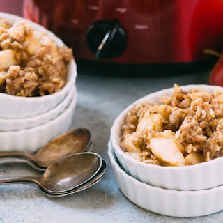 Slow-Cooker Apple Crisp