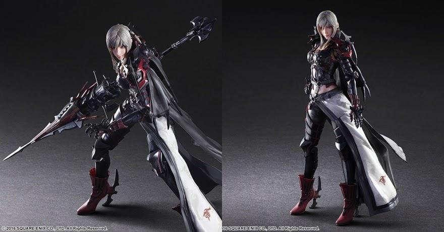 [Final Fantasy XV] Play Arts Kai อาราเนียออกวางจำหน่ายเดือนพฤศจิกายนนี้!
