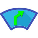Head-Up Nav HUD Navigation icon