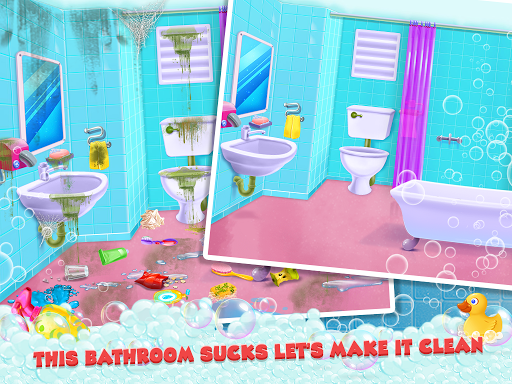 Keep Your House Clean - Girls Home Cleanup Game 1.2.4 screenshots 11