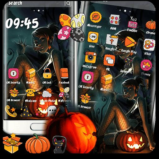 Halloween Witch Anime Theme