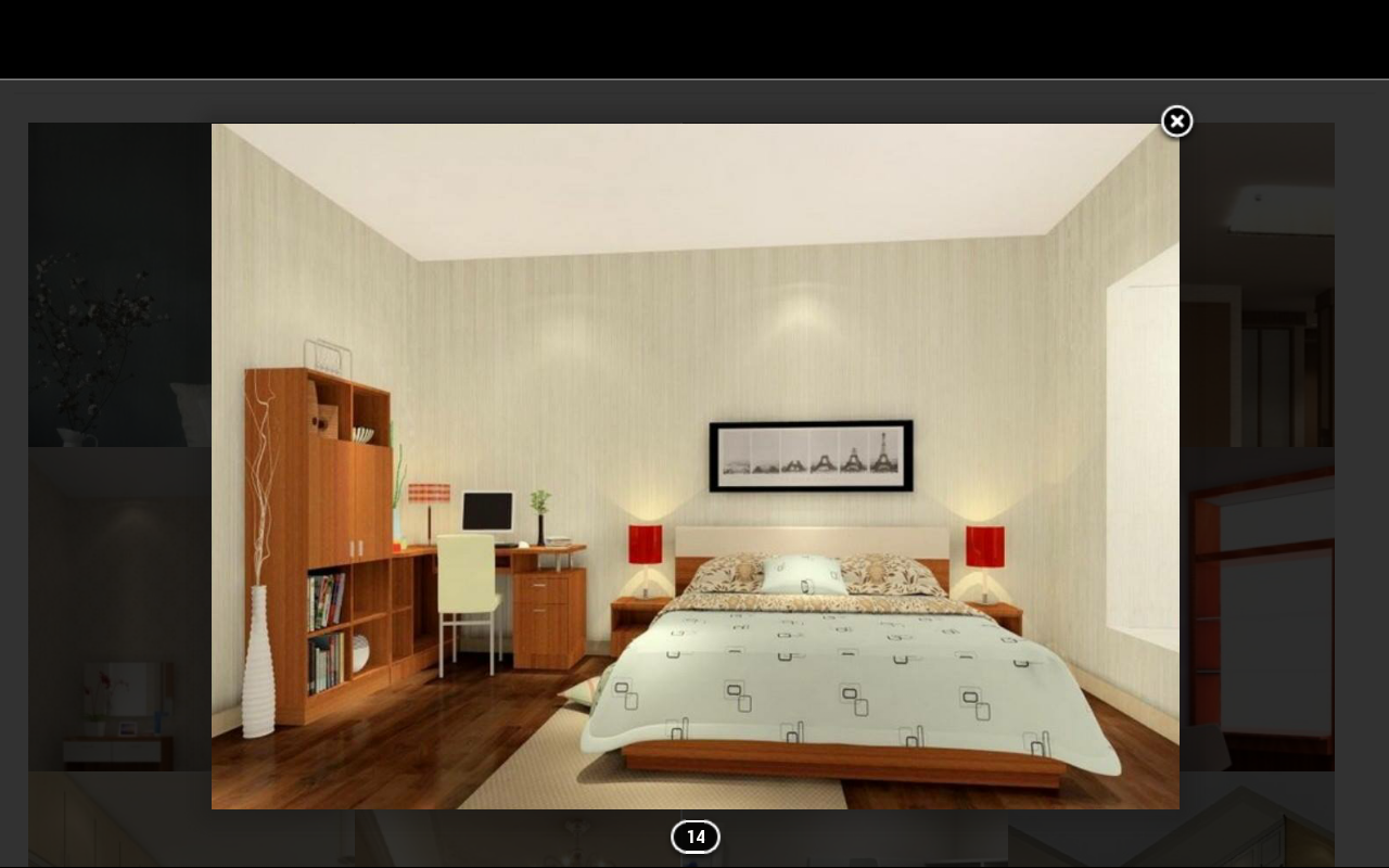 Modern hotel room interior stock photo image 18197840 - D Bedroom Design Screenshot