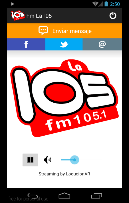 Fm La105- screenshot