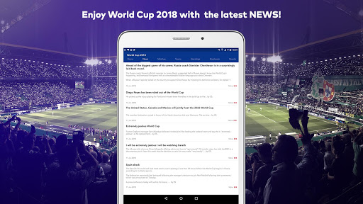 World Cup 2018 in Russia - Live Score, Match, News 6.0 screenshots 9
