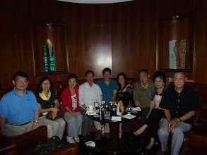 Photo: September 26 at the Jockey Club bar-Dominic & Kate, Siu Chu & Maureen, Dai Bum & wife, Ronald Law, Ah Mou & Carolyn. .