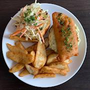 Haddock On a Bun & Fries