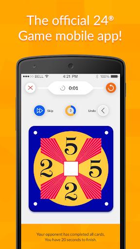 24 Game – Math Card Challenge