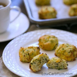 Zucchini Drop Biscuits with Cheese
