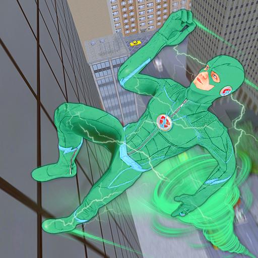 Tornado Bolt Light Speed Hero: Vegas Robot Crime
