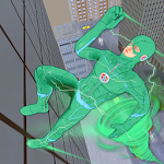 Tornado Bolt Light Speed Hero: Vegas Robot Crime icon