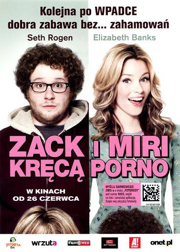 Przód ulotki filmu 'Zack i Miri Kręcą Porno'