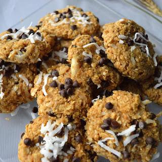 Vegan Coconut Oatmeal Cookies.