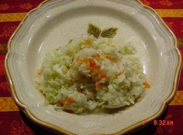Bonnie's Coleslaw Recipe