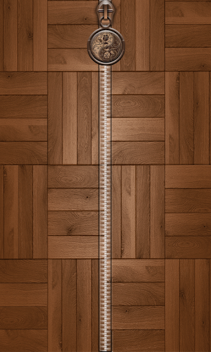 Wood Zipper Screen Lock
