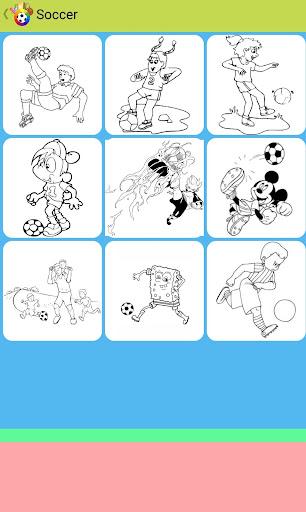 玩免費遊戲APP|下載Sport Coloring Book app不用錢|硬是要APP