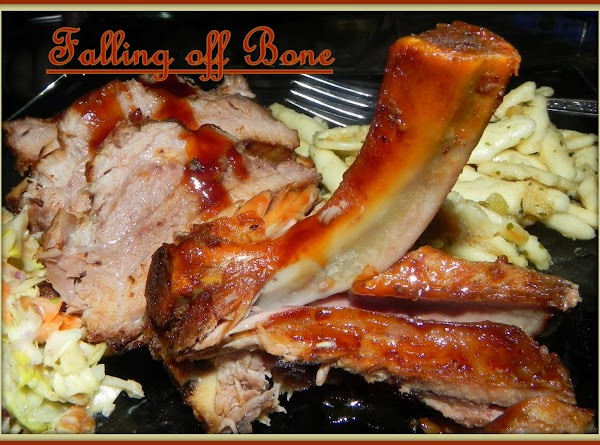 The meat really did fall of the bones. :-)