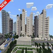 NxusMas City map for MCPE