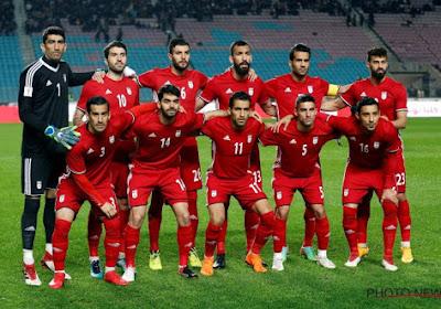 L'Iran dévoile sa liste définitive des 23, un joueur de Pro League en fait partie mais Charleroi peut être déçu