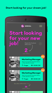 GoodCall - Find your dream job- screenshot thumbnail