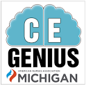 CE Genius Nurses: ANA Michigan icon