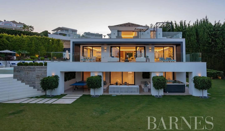 Villa avec jardin et terrasse Nueva Andalucia