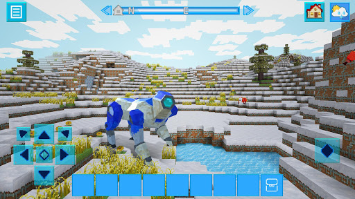 RoboCraft: Building & Survival Craft - Robot World 4.2.6 screenshots 14